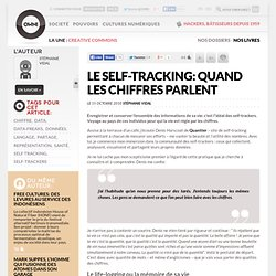 Le Self-Tracking: Quand les chiffres parlent » Article » OWNI, News Augmented