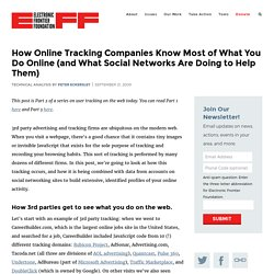 How Online Tracking Companies Know Most of What You Do Online (and What Social Networks Are Doing to Help Them)