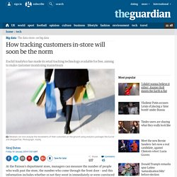 How tracking customers in-store will soon be the norm
