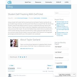 ExitTicket Student Response SystemExitTicket Student Response System