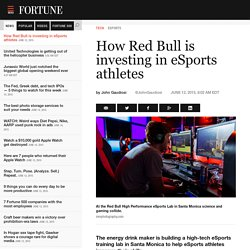 Eye-tracking tech helps improve gameplay at Red Bull's eSports lab