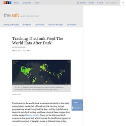 Tracking The Junk Food The World Eats After Dark : The Salt