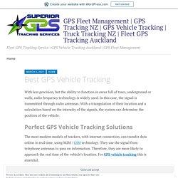 Best GPS Vehicle Tracking – GPS Fleet Management