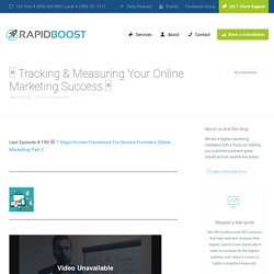 Why You Should Track Online Marketing Success
