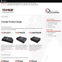 Personal GPS Tracking device Philippines - Tramigo GPS