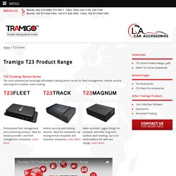 Tramigo T23 Car Tracking Device - Tramigo GPS