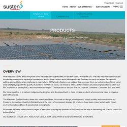 Solar Tracker – Mahindra Susten