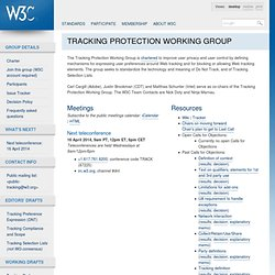C Tracking Protection Working Group