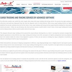 Cargo Tracking and Tracing Service - InfoxUSA