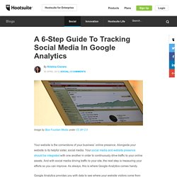 A 6-Step Guide To Tracking Social Media In Google Analytics
