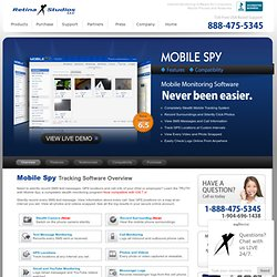 Mobile Spy Tracking Software for Cell Phones Overview