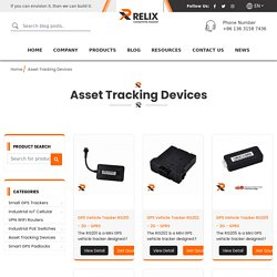 Asset Tracking Devices
