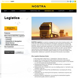 GPS Tracking System, Nostra Logistic