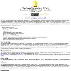Tracking Transmitter XFM1