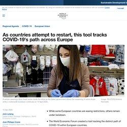 COVID-19: This tool tracks coronavirus's path in Europe
