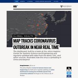 Map tracks coronavirus outbreak in near real time