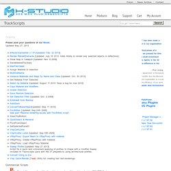 Kstudio - 3dsMax Plugins&Scripts