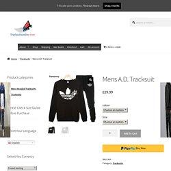 Mens A.D. Tracksuit - Tracksuitsonline.com