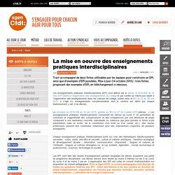 Sgen-Cfdt : Fiches pour la mise en oeuvre des EPI