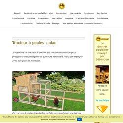 Tracteur à Poules : Plan