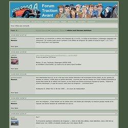 Forums Traction Avant / refaire sont faisceau electrique
