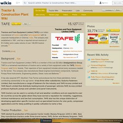 TAFE - Tractor & Construction Plant Wiki - The classic vehicle and machinery wiki