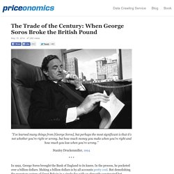 The Trade of the Century: When George Soros Broke the British Pound
