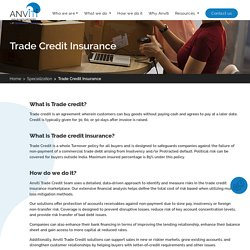 Trade Credit Insurance Brokers