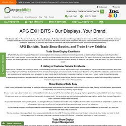 Trade Show Displays, Booths, Exhibits