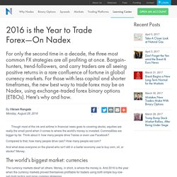 2016 is the Year to Trade Forex—On Nadex