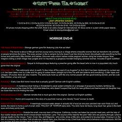 Trade Horror DVD-R