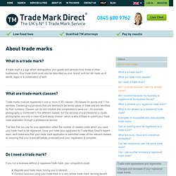Trade Mark Direct - About trade marks
