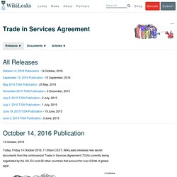 Trade in Services Agreement