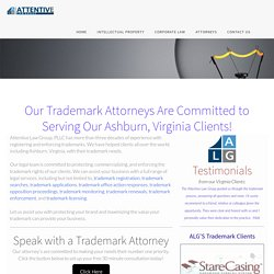 trademark attorneys Ashburn