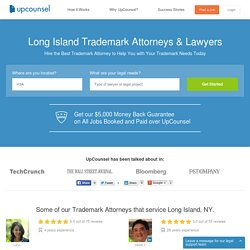 Long Island, NY Trademark Attorneys