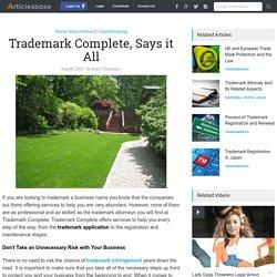 What is Trademark Infringement