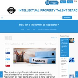 How to Register a Trademark - A Step-By-Step Guide