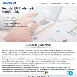 Register Trademark in European Union