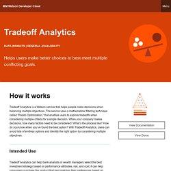 IBM Watson Developer Cloud