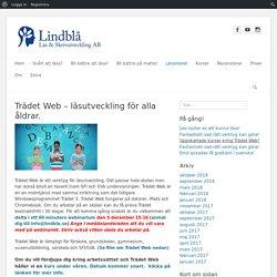 Trädet Web - läsutveckling för alla åldrar. - dyslexi.eu