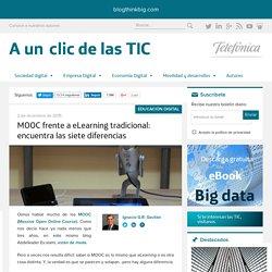 MOOC frente a eLearning tradicional: encuentra las siete diferencias