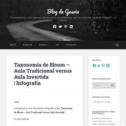 Taxonomía de Bloom – Aula Tradicional versus Aula Invertida