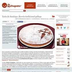 Tarta de Santiago. Receta tradicional gallega