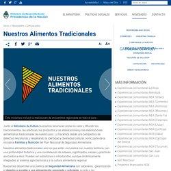 Nuestros Alimentos Tradicionales - Ministerio de Desarrollo Social
