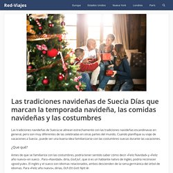 7. Las tradiciones navideñas de Suecia