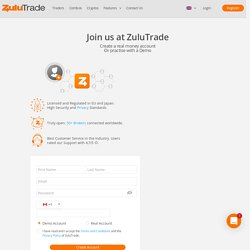 Create a Real or Demo Forex Trading Account
