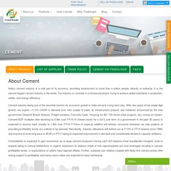 Cement Online Trading in Bulk enbales at Tradologie
