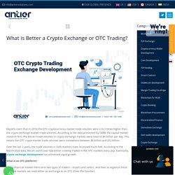 The Art of OTC Trading Exchange Development in 2021