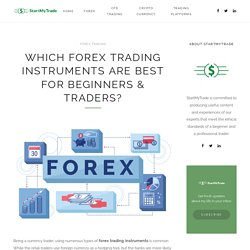 Forex Trading Instruments for Beginners & Traders