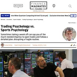 Trading Psychology vs. Sports Psychology